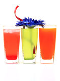 Lemonade And Juices Royalty Free Stock Photography