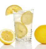 Lemonade In Antique Glass Stock Photo
