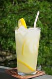 Lemonade on the balcony Royalty Free Stock Photo