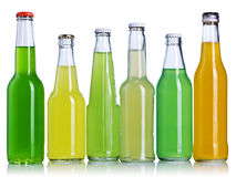 Lemonade bottles Stock Photography