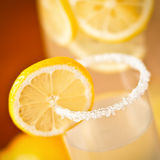 Lemonade closeup Royalty Free Stock Photography