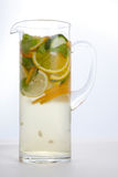 Lemonade in a decanter Stock Images