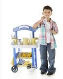 Lemonade Enterpreneur Stock Image