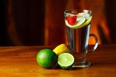 Lemonade. A glass of fresh lemonade Stock Photography