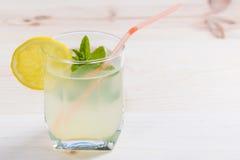 Lemonade glass Royalty Free Stock Photos