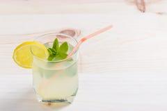 Lemonade glass Royalty Free Stock Photography