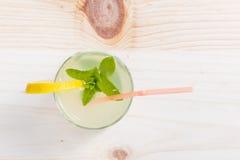 Lemonade glass Royalty Free Stock Images
