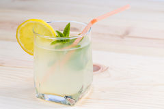 Lemonade glass Stock Photos