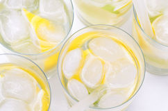 Lemonade in glass Stock Photography