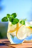 Lemonade in glass Royalty Free Stock Photos