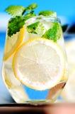 Lemonade in glass Stock Image
