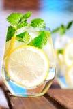 Lemonade in glass Royalty Free Stock Photo