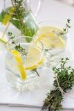 Lemonade with herbs Royalty Free Stock Image