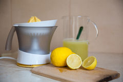 Lemonade. Home made in house is helth royalty free stock photo