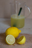 Lemonade. Home made in house is helth Stock Photography