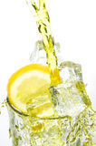 Lemonade and ice Royalty Free Stock Photography