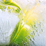 Lemonade with ice Royalty Free Stock Photography