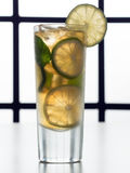 Lemonade with ice Royalty Free Stock Photos
