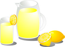 Lemonade illustration Royalty Free Stock Photos