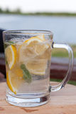 Lemonade jug Royalty Free Stock Image