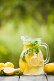 Lemonade in the jug Royalty Free Stock Photos