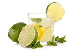 Lemonade juice or mojito Royalty Free Stock Images