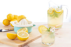 Lemonade just squeeze Royalty Free Stock Images