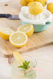 Lemonade just squeeze Stock Images