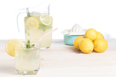Lemonade just squeeze Royalty Free Stock Image
