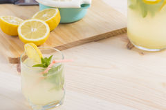 Lemonade just squeeze Royalty Free Stock Photos