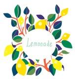 Lemonade label - bright design Stock Photo