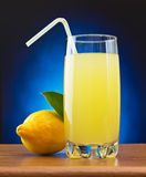 Lemonade and lemon Royalty Free Stock Image