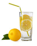 Lemonade and lemon Stock Photography