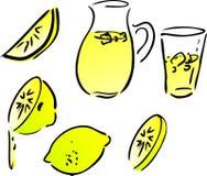 Lemonade and lemons Royalty Free Stock Photo