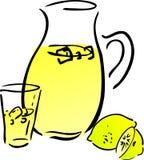 Lemonade and lemons Stock Photography