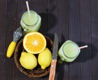 Lemonade and lemons Royalty Free Stock Photos