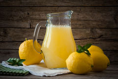 Lemonade And Lemons Stock Image