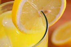 Lemonade macro Stock Photos