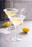 Lemonade martini with rosemary Stock Images