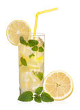 Lemonade with mint Stock Photo