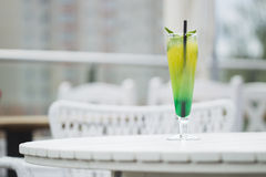 Lemonade with mint and ice. Royalty Free Stock Photography