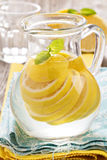 Lemonade with mint and lemon Royalty Free Stock Photography