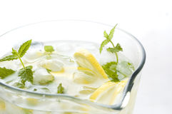 Lemonade pitcher Royalty Free Stock Images