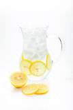 Lemonade Pitcher Stock Image