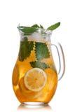 Lemonade pitcher royalty free stock photos