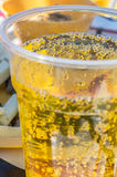 Lemonade closeup Royalty Free Stock Photo