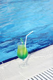 Lemonade by the pool Stock Photography