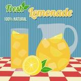 Lemonade poster Stock Photo