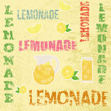 Lemonade retro poster Stock Images