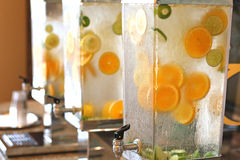 Lemonade servers Stock Image